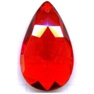 facet hanger 43mm rood kunststof