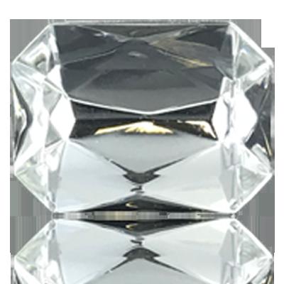 fancy stones 40mm kristal rechthoek