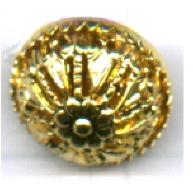 filigrain 12mm goud rond