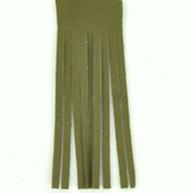 Franjeband 65mm groen leer kleurnummer 17