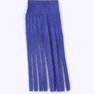 Franjeband 65mm blauw leer kleurnummer 9