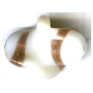 speciale glaskralen 24mm wit