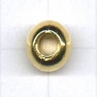 grootgatskralen 9,5mm goud rond
