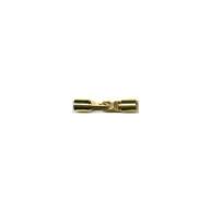 haaksluitingen 5mm goud rechthoek