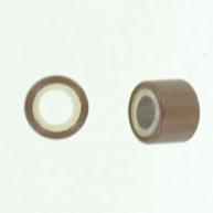 Knijpkraal voor haren 5mm bruin rond