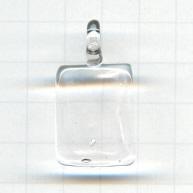 hangers 35mm doorzichtig rechthoek glas