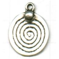 hangers 20mm zilver rond metaal