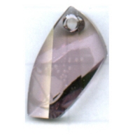 Swarovski 20mm paars ruit kristal