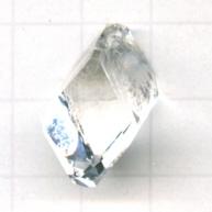 Swarovski hangers 22mm kristal blokje