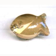 Swarovski 18mm bruin dier kristal