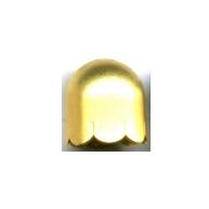kapjes 13mm goud rond 2
