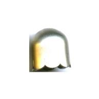 kapjes 13mm zilver rond 2