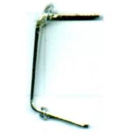 koppelstukken 12mm zilver metaal