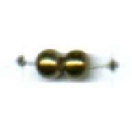 kunststofkralen 3mm oudgoud rond