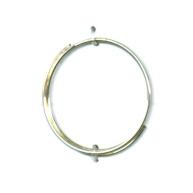 vingerringen 21mm zilver rond