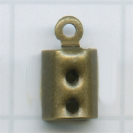 eindklemmen 3mm oudgoud rechthoek