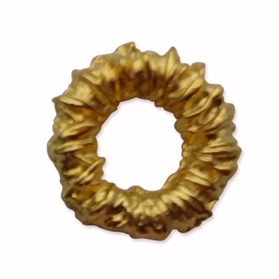tinringen 9mm goud rond