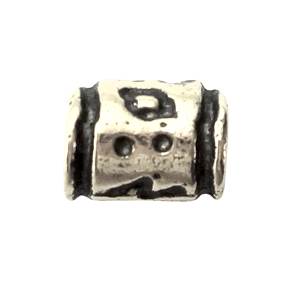 buisjes 7mm oudzilver cilinder tin