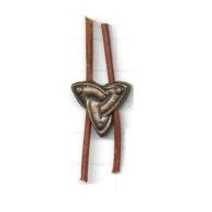tinkralen 19mm brons driehoek