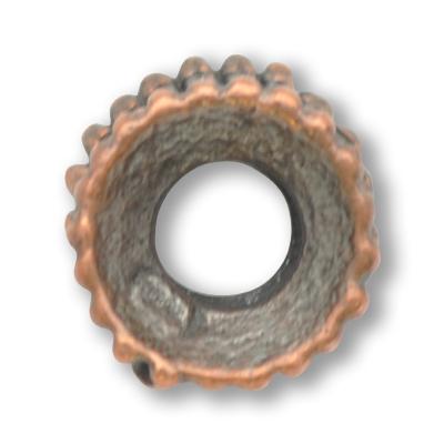 tinringen 7mm brons rond kleurnummer 739