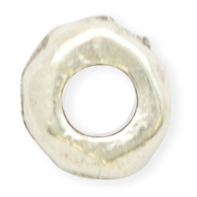 tinringen 4mm oudzilver rond