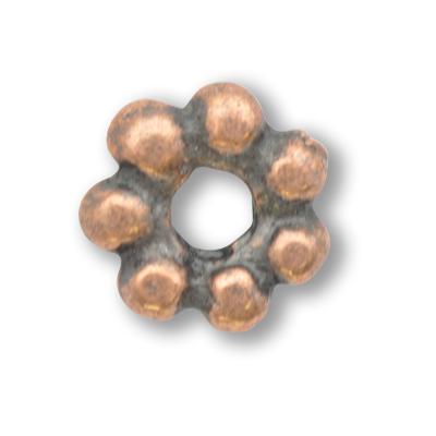 tinringen 7mm brons rond 1