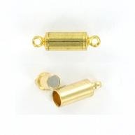 magneetsluiting 15mm goud buis