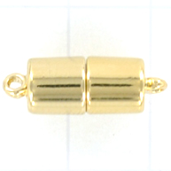 magneetsluiting 20mm goud rechthoek