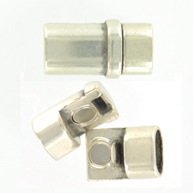 magneetsluitingen 27mm zilver rechthoek
