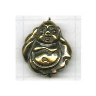 kralen 20mm oudgoud boeddha tin