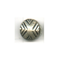 kralen 9mm oudzilver rond tin kleurnummer 735