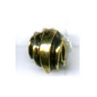 kralen 7mm oudgoud rond tin kleurnummer 736