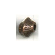 kralen 8mm brons konisch tin