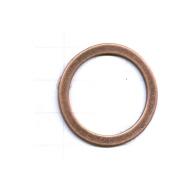 ringen 32mm brons rond metaal