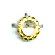 ringen 8mm goud rond metaal