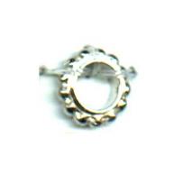 ringen 8mm zilver rond metaal kleurnummer 738
