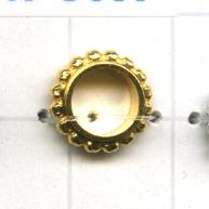 ringen 10mm goud rond metaal
