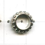 ringen 10mm zilver rond metaal