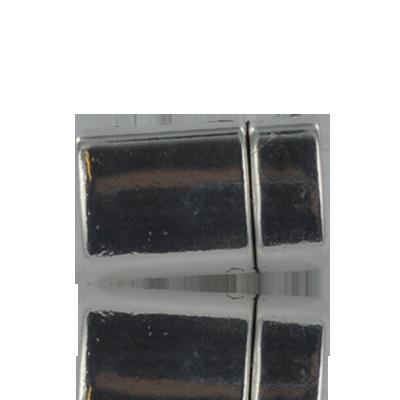 magneetsluitingen rechthoek 10mm zilver