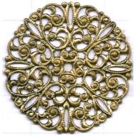 filigrain ornament 35mm oudgoud rond metaal