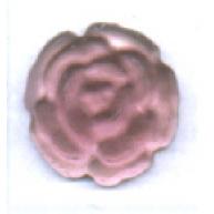 plakstenen 8mm paars rond glas