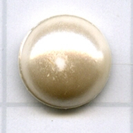 plakstenen 8mm creme rond kristal