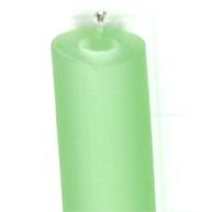 rijgsnoer 8mm groen rond kunststof