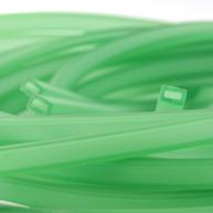 rijgsnoer 10mm groen rechthoek kunststof kleurnummer 9