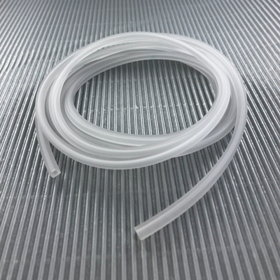 rijgsnoer 4mm vierkant rubber pvc wit mat