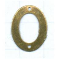 tussenzetsel ring 18mm oudgoud ovaal metaal