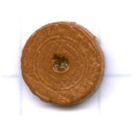 kralen 10mm bruin rond schijf hout kleurnummer 6033