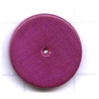 kralen 14mm paars rond schijf hout