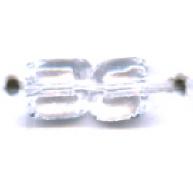 staafjes kralen 35mm doorzichtig staafje glas