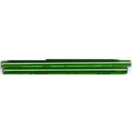 staafjes kralen 60mm groen staafje glas